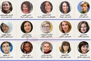 اینفوگرافیک | قدرتمندترین زنان جهان در سال ۲۰۲۱