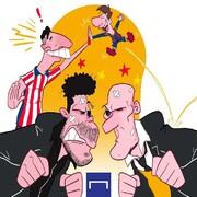 ببینید: دعوای مادریدیها به سود بارسلونا تمام شد!