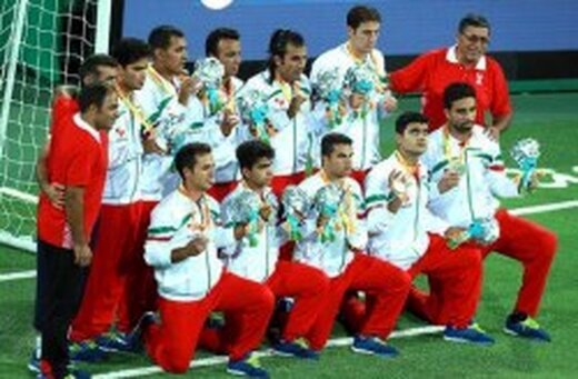 کیش میزبان اردوی مشترک تیم های ملی فوتبال ۵ نفره ایران و روسیه