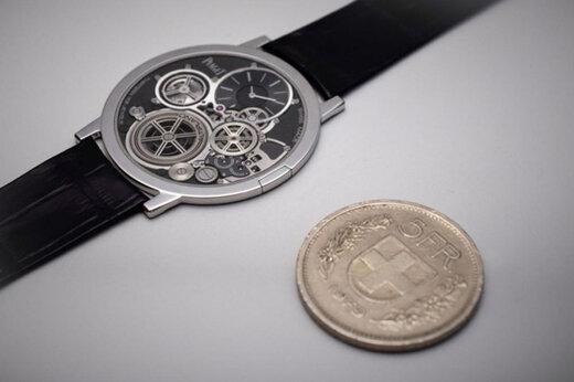 ببینید | معرفی نازکترین ساعت اتوماتیک جهان با ضخامتی کمتر از یک سکه
