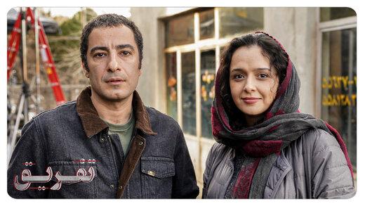 عکس | نوید محمدزاده و ترانه علیدوستی پشتصحنه فیلمی تازه