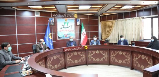 دیدار مدیرعامل شرکت توزیع برق استان با خانواده شهید همکار