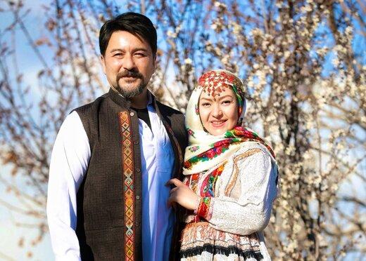 امیرحسین صدیق و همسرش در «نوروزترین نوروز»
