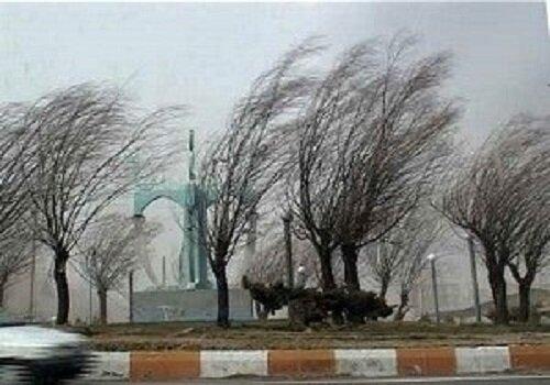 افزایش سرعت باد و غلظت آلاینده اُزُن در هوای تهران