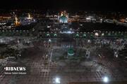 تصاویر | جشن عید مبعث و آیین نامگذاری صحن پبامبر اعظم (ص) در حرم مطهر رضوی
