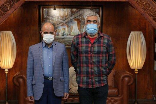 مهمان سروش صحت در برنامه «کتابباز» در روز عید مبعث
