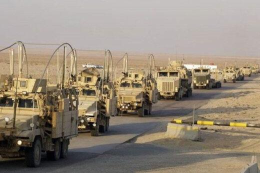 انفجار در مسیر خودروهای لجستیک ائتلاف آمریکایی در عراق