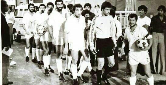 آخرین بازی ملی علی پروین/عکس