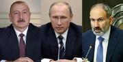 پوتین با رهبران جمهوریآذربایجان و ارمنستان درباره قره باغ گفتگو کرد