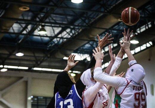 پایان لیگ بسکتبال زنان با قهرمانی گروه بهمن