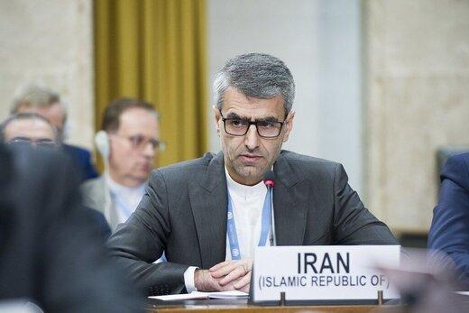 نطق نماینده ایران علیه اسرائیل:تنها راه حل،همهپرسی است