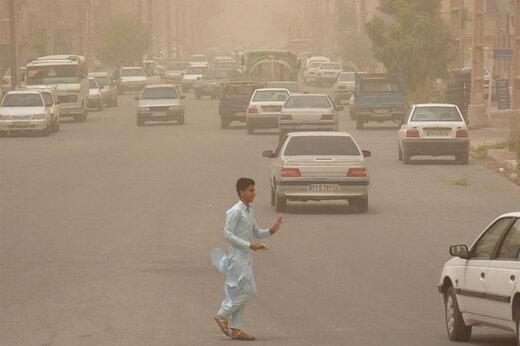 هشدار سازمان هواشناسی: خیزش گرد و خاک در ۱۳ استان