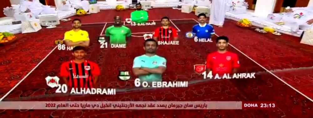 سرخابیها در تیم منتخب هفته قطر/عکس