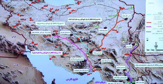 Iran launches 2nd phase of water transfer from Persian Gulf