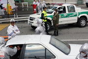 ببینید   استقرار پلیس در جاده های کشور برای اجرای محدودیت های کرونایی