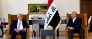دیدار رئیس الحشدالشعبی با برهم صالح