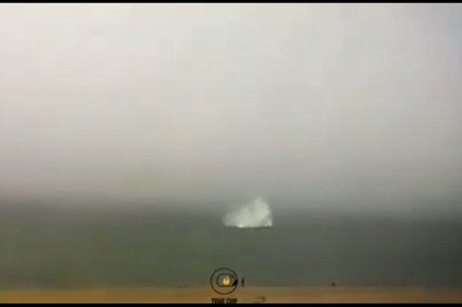 ببینید | لحظه سقوط مرگبار یک هلیکوپتر چینی به دریا