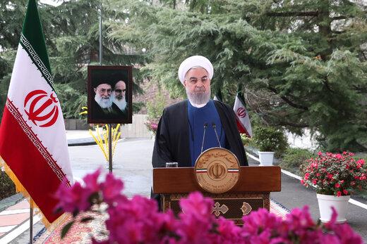 تبریک روحانی به سران کشورهای حوزه تمدن نوروز
