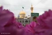 ببینید | تصاویر منحصربفرد از تحویل سال نو در حرم امام رضا (ع)