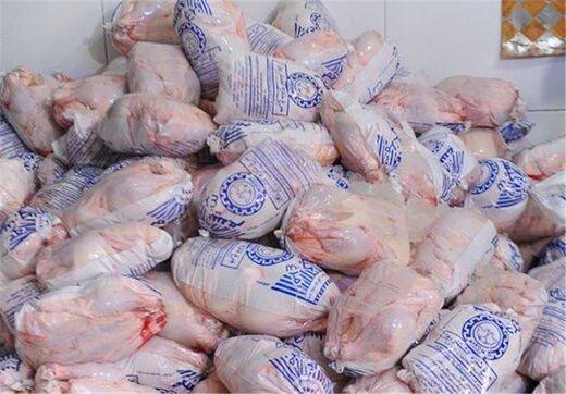توزیع ۱۴۰۰ تن مرغ در پایتخت