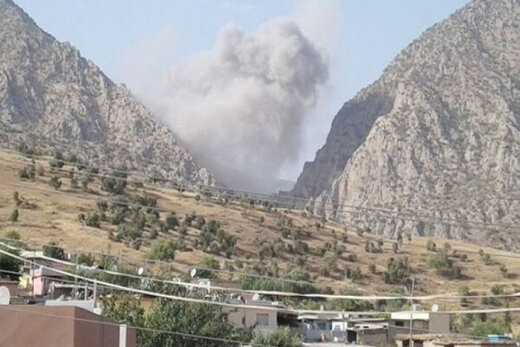 حمله هوایی ترکیه به عراق