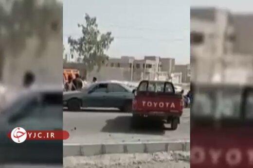 ببینید | ویدیویی از محل حادثه انفجار تروریستی سراوان