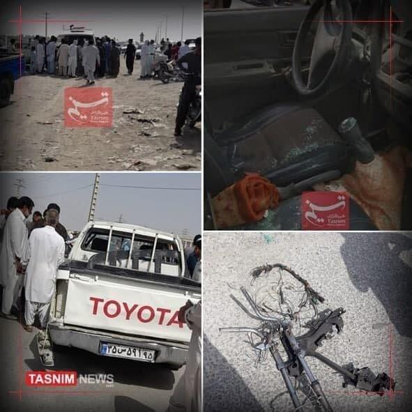 نخستین تصاویر از انفجار تروریستی در سیستان و بلوچستان