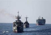 ببینید | رویارویی ناوگروه ارتش ایران با نیروی دریایی آمریکا در اقیانوس اطلس