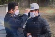 «سلام» نوروزی ماموران پلیس به مردم از قاب تلویزیون