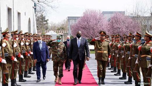 اظهارات مهم رئیس پنتاگون در کابل