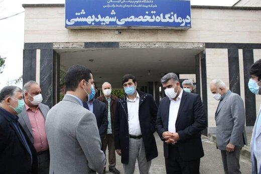 قدردانی سرپرست سازمان منطقه آزاد انزلی از تلاش های کادر درمان