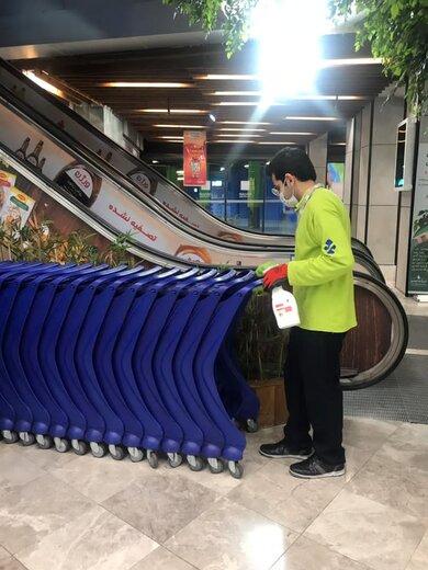 تدابیر ویژه فروشگاههای زنجیرهای هایپرمی برای مقابله با کرونا