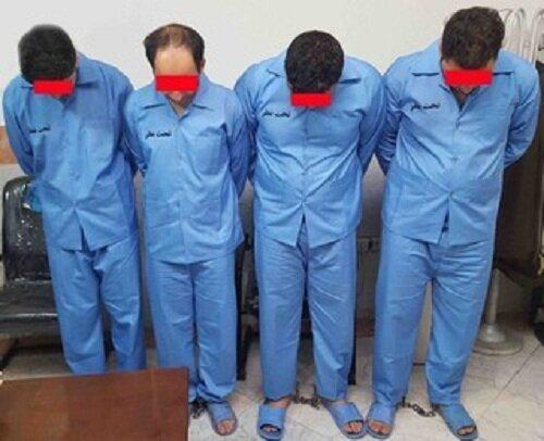 سارقان خانوادگی در نهاوند دستگیر شدند