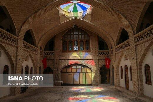 بازگشایی مدرسه علمیه خان یزد بعد از نیم قرن برای بازدید عمومی