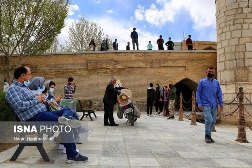 نوروز ۱۴۰۰ زیرسایه کرونا در اصفهان
