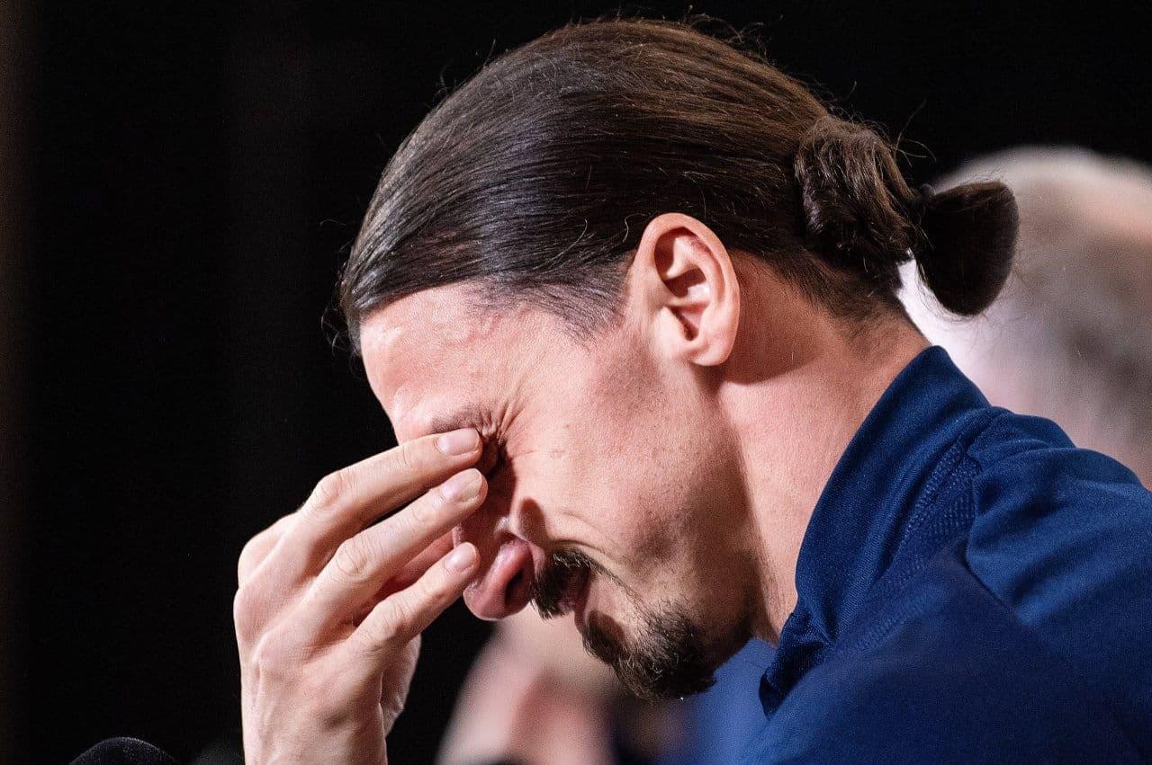 حرفی که اشک زلاتان را درآورد/عکس
