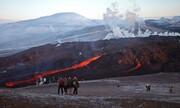 ببینید   حضور ایسلندیها برای تماشای فوران آتشفشان در نزدیکی پایتخت