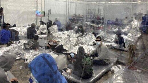 انتشار اولین تصاویر از بازداشتگاهِ کودکان مهاجر در آمریکا و افزایش نگرانیها