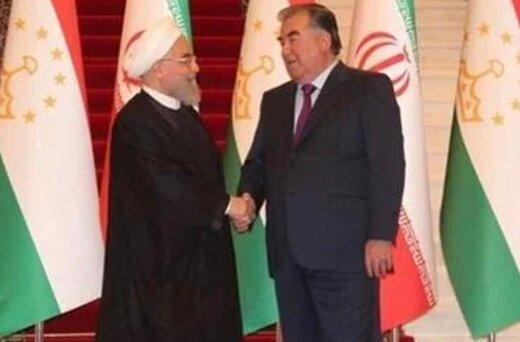 پیام تبریک رئیس جمهور تاجیکستان به حسن روحانی