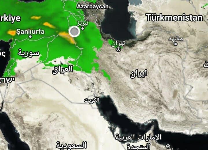 اعلام هشدار بارش باران و وزش باد شدید در آذربایجانغربی