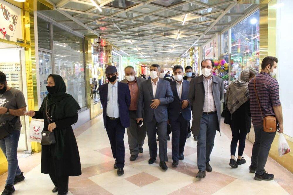 بازدید اعضای ستاد هماهنگی گردشگری و خدمات سفر سازمان از روند ارایه خدمات به گردشگران منطقه آزاد انزلی