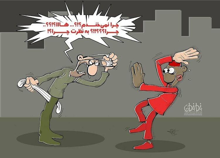 برخورد تند یک شهروند با حاجی فیروز را ببینید!