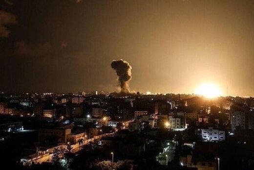 ببینید | حمله جنگندههای رژیم صهیونیستی به غزه