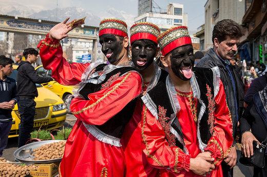 ببینید | کارناوال نوروزی تهران در میدان تجریش  به مناسبت نوروز ۱۴۰۰