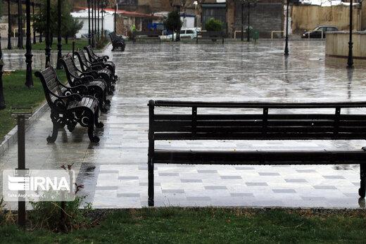 شروع دوباره بارندگیها در ایران/ هوا خنک میشود؟