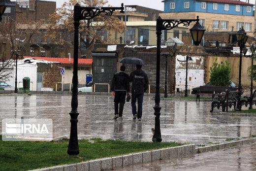 پیشبینی باران در ۱۹ استان