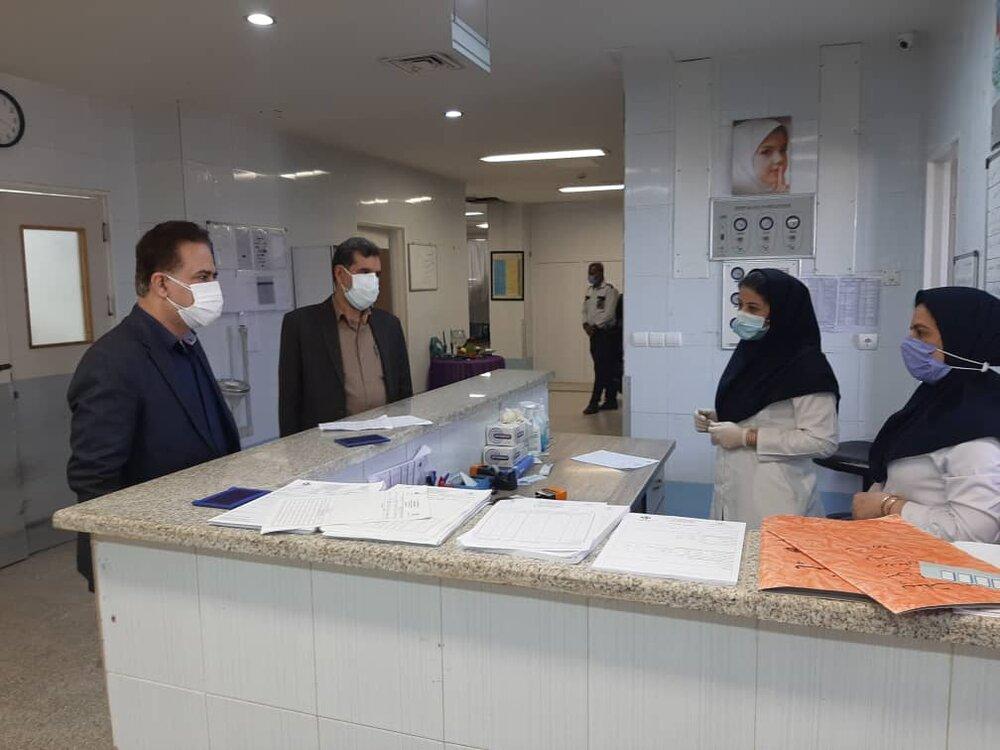 بررسی نحوه خدمات رسانی در بیمارستان پیامبر اعظم(ص) قشم