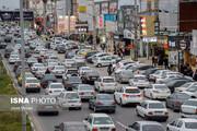 امروز صبح کدام معابر تهران پرترافیک هستند؟