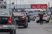 نشت گازوییل جاده فیروزکوه را بست