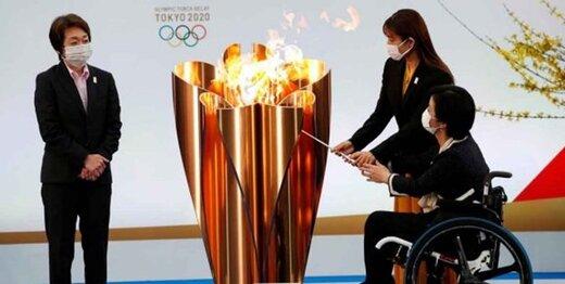 مشعل المپیک بالاخره روشن شد
